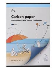 Carbonpapier a4 21x29,7cm 10x blauw