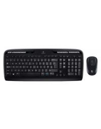 Toetsenbord logitech mk330 qwerty +muis zwart