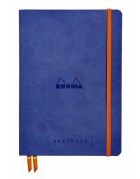 Bulletjournal rhodia a5 120vel dots saffierblauw