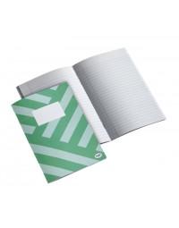 Schrift multo a5 80vel lijn groen