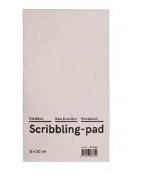 Kladblok budget 12x20cm