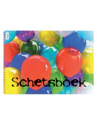 Schetsboek papyrus ballon a5 120gr 20vel