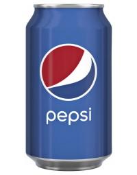 Frisdrank pepsi cola regular blikje 0.33l