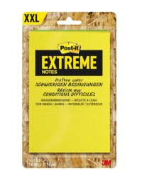 Memoblok post-it extreme ext57m 114x171mm groen geel