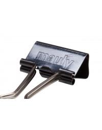 Papierklem maul 215 foldback 25mm capaciteit 9mm zwart