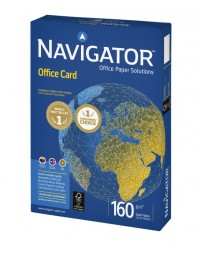 Kopieerpapier navigator office card a3 160gr wit 250vel