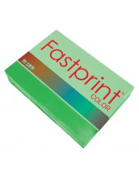 Kopieerpapier fastprint a4 80gr grasgroen 500vel