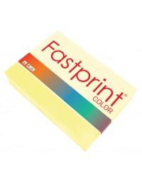 Kopieerpapier fastprint a4 80gr geel 500vel