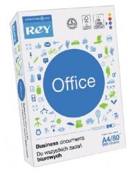 Kopieerpapier rey office a4 80gr 4-gaats wit 500vel