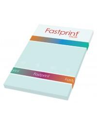 Kopieerpapier fastprint a4 160gr lichtblauw 50vel