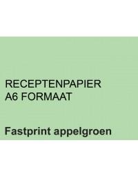 Receptpapier fastprint a6 80gr appelgroen 2000vel