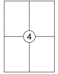 Etiket quantore 105x148mm 60stuks