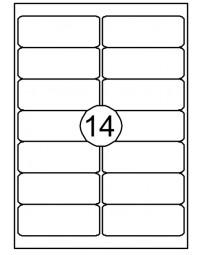 Etiket quantore 99.1x38,1mm 210stuks