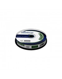 Dvd-rw mediarange 4.7gb|120min 4x speed, 10 stuks