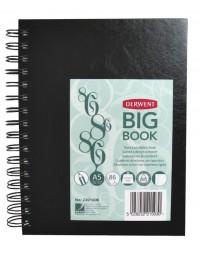 Schetsboek derwent big book a5 harde kaft