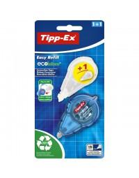 Correctieroller tipp-ex 5mmx14m easy refill + refill ecolutions blister a 1+1