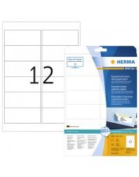 Etiket herma 10017 a4 99.1x42.3mm verwijderbaar wit