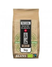 Koffie douwe egberts espresso bonen medium roast organic en fairtrade
