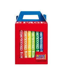Chocolade tony's chocolonely rainbowpack classic 6 repen à 180gr