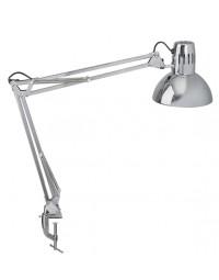 Bureaulamp maul study met tafelklem chroom