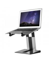 Laptopstandaard newstar nsls200 opvouwbaar zwart- zilver