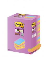 Memoblok 3m post-it 655 127x76mm color notes