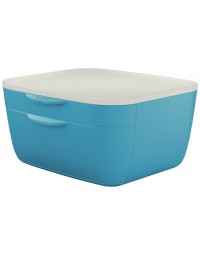 Ladenblok leitz cosy 2 laden blauw