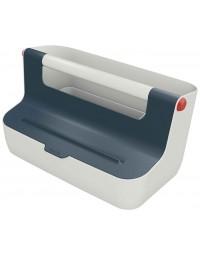 Opbergbox leitz cosy draagbaar kunststof grijs