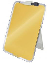 Glas desktop flipover leitz cosy geel