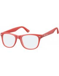 Leesbril montana blue light filter +3.00 dpt rood