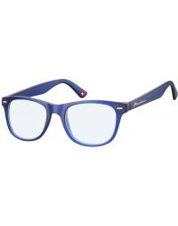 Leesbril montana blue light filter +1.00 dpt blauw