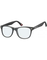 Leesbril montana blue light filter +2.50 dpt zwart