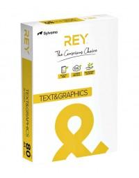 Kopieerpapier rey text & graphics a4 80gr wit 500vel