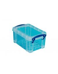 Opbergbox really useful 0.7 liter 155x100x80 mm transparant wit