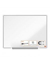 Whiteboard nobo impression pro 45x60cm staal