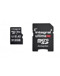 Geheugenkaart integral microsdxc 512gb