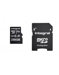 Geheugenkaart integral microsdxc 256gb