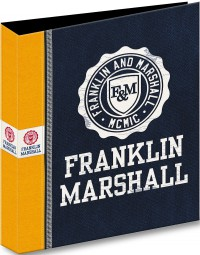 Ringband map A4 23-rings 2015 Franklin & Marshall