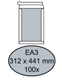 Envelop quantore bordrug ea3 312x441mm zelfkl. wit 100stuks
