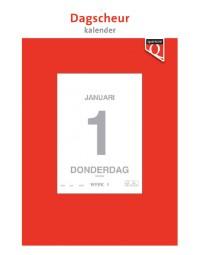 Dagscheurkalender 2022 quantore 12x17cm