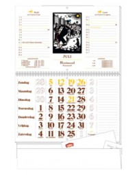 1-maandkalender 2020 korenaar nederlandstalig