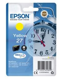 Inkcartridge epson 27 t2704 geel
