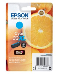 Inkcartridge epson 33xl t3362 blauw hc
