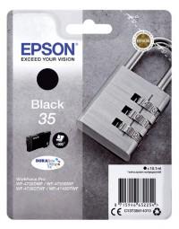 Inktcartridge epson 35 t3581 zwart