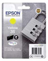 Inktcartridge epson 35 t3584 geel
