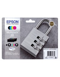 Inkcartridge epson 35 t3586 zwart + 3 kleuren