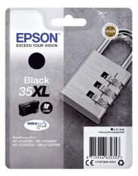 Inktcartridge epson 35xl t3591 zwart hc
