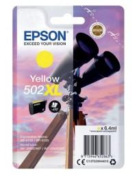 Inkcartridge epson 502xl t02w4 geel hc