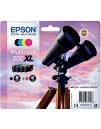 Inkcartridge epson 502xl t02w6 zwart + 3 kleuren hc