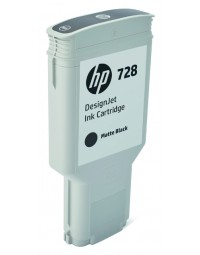 Inkcartridge hp f9j68a 728 mat zwart